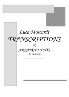 Concerto for Lute (or Mandolin) and Strings in D Major, RV 93: Movement II Largo. Arrangement for piano by Antonio Vivaldi