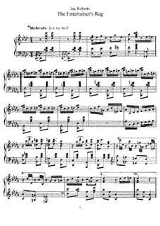 The Entertainer's Rag: Für Klavier by Jay Roberts