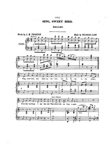 Sing, Sweet Bird: Sing, Sweet Bird by Wilhelm Ganz