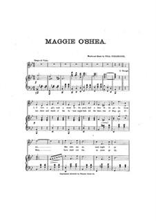 Maggie O'Shea: Maggie O'Shea by Will Fieldhouse