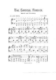 The Cardinal Forever: Für Klavier by Edward R. Flint