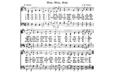 Holy, Holy, Holy! Lord God Almighty: Für Chor by John Bacchus Dykes