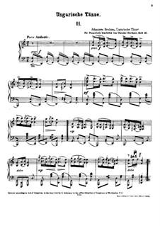 Nr.11-16: Für Klavier by Johannes Brahms