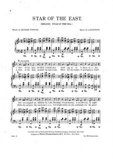Star of the East: Für Stimme und Klavier by Amanda Kennedy