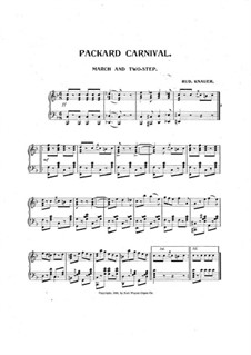Packard Carnival: Packard Carnival by Rud. Knauer