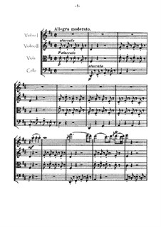 Streichquartett Nr.53 in D-Dur 'Lerche', Hob.III/63 Op.64 No.5: Partitur by Joseph Haydn