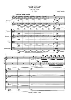 Klavierquintett 'Lichtzirkel': Klavierquintett 'Lichtzirkel' by Dr. Arnold Wohler