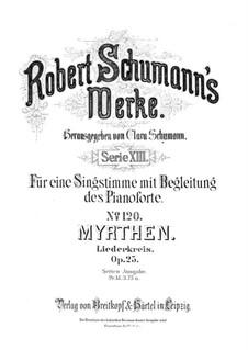 Vollständiger Satz: Klavierauszug mit Singstimmen by Robert Schumann