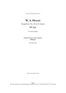 Teil II: Bearbeitung für Klavier, tbpt42 by Wolfgang Amadeus Mozart