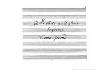 Motetten: Teil II by Giovanni Legrenzi