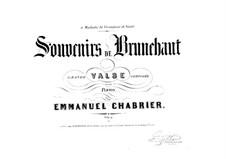 Souvenirs de Brunehaut: Souvenirs de Brunehaut by Emmanuel Chabrier