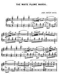 The White Plume March: The White Plume March by John Philip Sousa