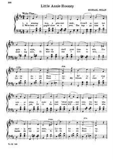 Little Annie Rooney: Klavierauszug mit Singstimmen by Michael Nolan