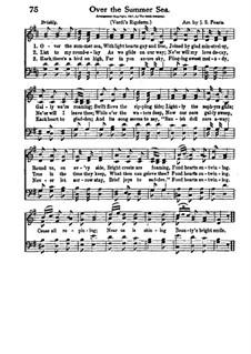 La donna è mobile (Over the Summer Sea): Für Chor by Giuseppe Verdi
