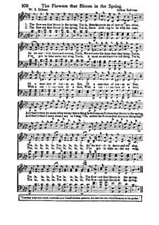 The Flowers That Bloom in the Spring: Für Chor by Arthur Sullivan