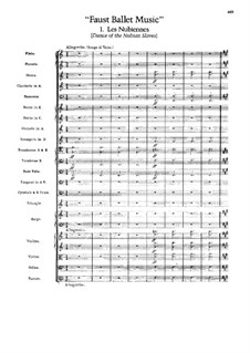 Faust: Ballettmusic by Charles Gounod