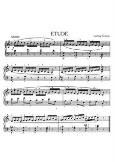 Etüde in C-Dur: Etüde in C-Dur by Ludvig Schytte