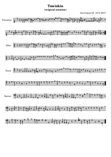 Tmeiskin (Original Notation): Tmeiskin (Original Notation) by Jean Japart