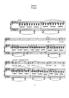 Ausgewählt Lieder II: Ausgewählt Lieder II by Henri Duparc