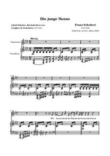 Die junge Nonne: Die junge Nonne by Franz Schubert