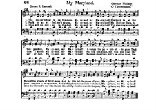 My Maryland: My Maryland by folklore