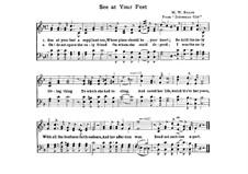 Die Zigeunerin: See at Your Feet, für Chor by Michael William Balfe