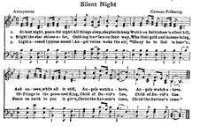 Stille Nacht: Für Chor by folklore