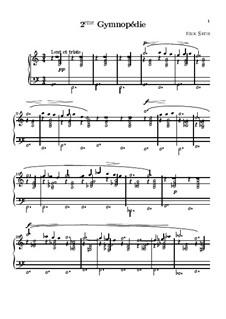 Gymnopédies: Nr.2 by Erik Satie