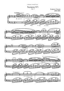 Nr.1 in b-Moll: Für Klavier by Frédéric Chopin