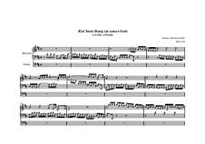 Choralvorspiele (Übrige): Ein feste Burg ist unser Gott, BWV 720 by Johann Sebastian Bach