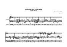 Choralvorspiele III (Leipziger Choräle): Schmücke dich, o liebe Seele, BWV 654 by Johann Sebastian Bach
