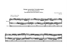 Canonischen Veränderungen über 'Vom Himmel hoch da komm' ich her', BWV 769: Für Orgel by Johann Sebastian Bach
