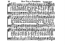 How Firm a Foundation: Für Stimmen by folklore
