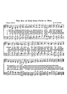 The Son of God Goes Forth to War: The Son of God Goes Forth to War by Henry Stephen Cutler