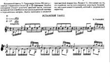 Zwölf Spanische Tänze: Tanz Nr.10, für Gitarre by Enrique Granados