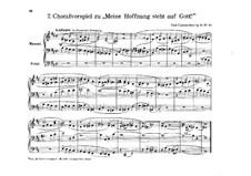 Choralvorspiel zu 'Meine Hoffnung steht auf Gott', Op.14 No.10: Choralvorspiel zu 'Meine Hoffnung steht auf Gott' by Hermann Paul Claußnitzer