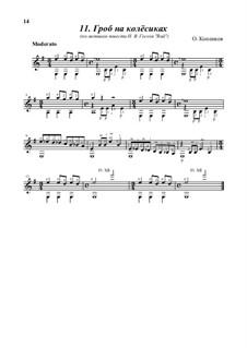 Coffin on the wheels, Op.13: Coffin on the wheels by Oleg Kopenkov