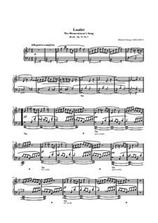 Stimmungen, Op.73: No.7 The Mountaineer's Song by Edvard Grieg