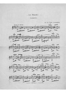 La Paloma (Die Taube): Version für Gitarre by Sebastián Yradier