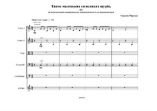 The dance of large and small rats for string orchestra: The dance of large and small rats for string orchestra by Evgenia Marchuk