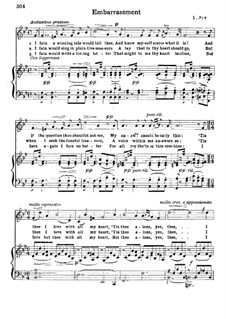 Embarrassment: Klavierauszug mit Singstimmen by Franz Wilhelm Abt