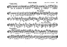 Puppchens Traumen und Erwachen, Op.202: Für Gitarre by Theodor Oesten