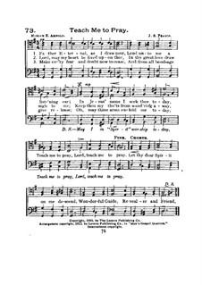 Teach Me to Pray: Teach Me to Pray by John Sylvester Fearis