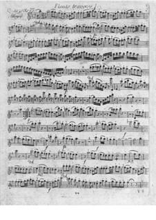 Quartett für Flöte und Streicher Nr.6 in e-Moll: Quartett für Flöte und Streicher Nr.6 in e-Moll by Franz Anton Hoffmeister