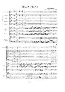 Magnificat: Magnificat by Šimon Brixi