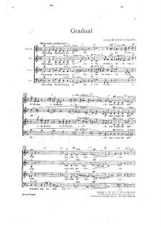 Gradual: Gradual by Anton Bruckner