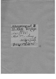 Triosonate  für zwei Flöten und Basso Continuo in f-Moll, QV 2:Anh.18: Triosonate  für zwei Flöten und Basso Continuo in f-Moll by Johann Joachim Quantz