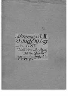 Triosonate für Flöte, Oboe d'amore (oder Violine) und Basso Continuo, QV 2:Anh.19: Triosonate für Flöte, Oboe d'amore (oder Violine) und Basso Continuo by Johann Joachim Quantz