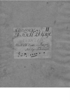 Triosonate für Flöte, Oboe und Basso Continuo in A-Dur, TWV 42:A9: Triosonate für Flöte, Oboe und Basso Continuo in A-Dur by Georg Philipp Telemann