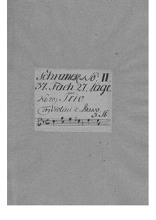 Triosonate für zwei Violinen und Basso Continuo in c-Moll, TWV 42:c4: Triosonate für zwei Violinen und Basso Continuo in c-Moll by Georg Philipp Telemann